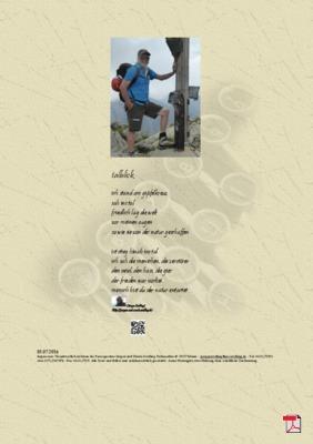Talblick - Gedicht - Gedanken