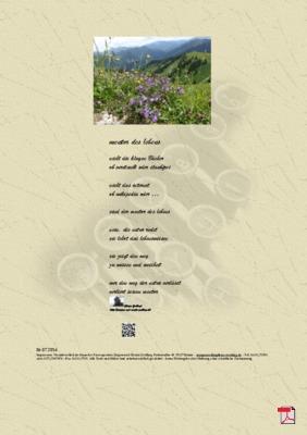 Mentor des Lebens - Gedicht - Gedanken