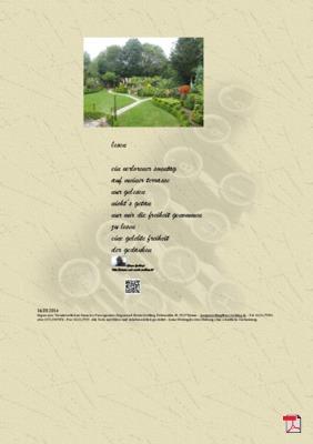 Lesen - Gedichte - Gedanken