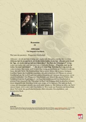 Rezension zu Albtraum von Margarete van Marvik