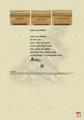 Soziale Gerechtigkeit - Gedichte - Gedanken