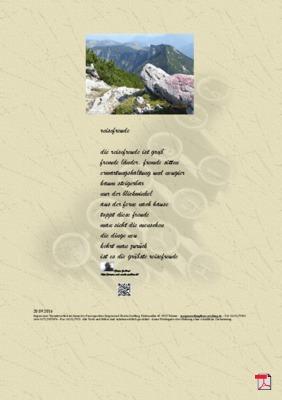 Reisefreude - Gedichte - Gedanken