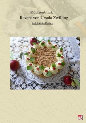 Ursula's Apfel-Wein-Kuchen - Rezept