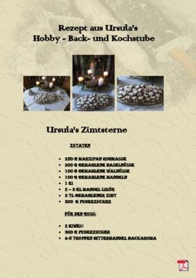 Ursula's Zimtsterne