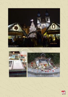 Zwilling's Blickwinkel  Weihnachtsmarktbesuch in Prag (Freiheit, Demokratie)