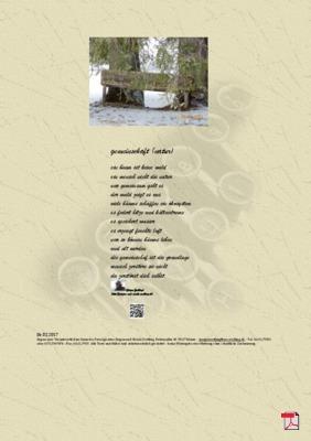 Gemeinschaft (Natur) - Gedichte -Gedanken