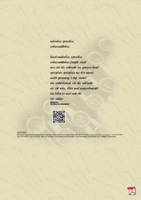 Märchen sprechen Schneewittchen (Natur) - Gedicht - Gedanken