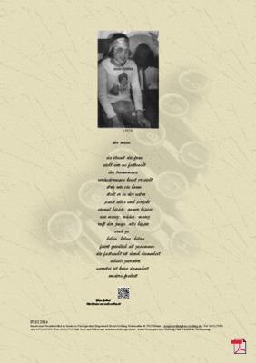 Der Mann (Fastnacht) -Gedicht - Gedanke