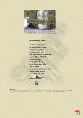 Gemeinschaft (Natur) - Gedichte - Gedanken