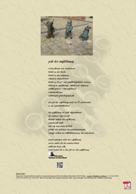 Zeit der Aufklärung (Politik - Gesellschaft) - Gedichte - Gedanken