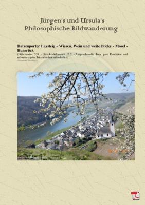 Philosophische Bildwanderung Hatzenporter Laysteig - Wiesen, Wein und weite Blicke - Mosel - Hunsrück