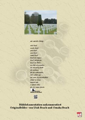 Nie wieder Krieg (Frieden - Politik) Gedichte - Gedanken