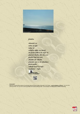 Frieden - Gedichte - Gedanken