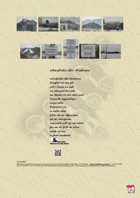 Schneeflocken über Rheinhessen (Freiheit -Demokratie)  Gedicht - Gedanken