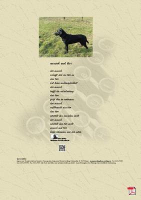 Mensch und Tier - Gedichte - Gedanken