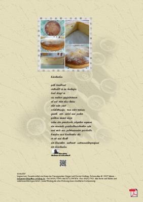Käsekuchen - Gedichte - Gedanken