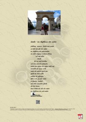 Danke –Im Rhythmus der Natur (Geburtstag) - Gedichte - Gedanken
