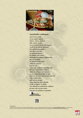 Rassitisches Verhungern (Mensch, Politik)- Gedicht - Gedanken