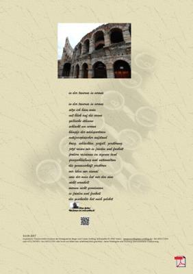 In der Taverna in Verona (Gesellschaft, Mensch, Politik) - Gedichte -Gedanken