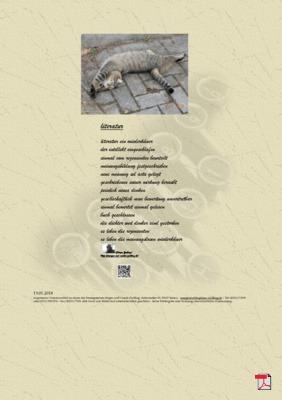 Literatur (Gesellschaft, Mensch) - Gedicht - Gedanken