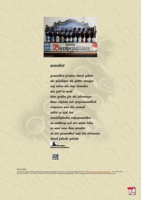 Gesundheit (Mensch, Gesellschaft, Religion, Glaube, Natur) Gedichte - Gedanken