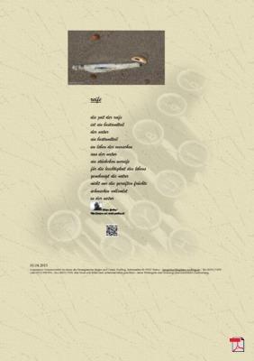 Reife (Mensch , Gesellschaft, Natur ) Gedichte - Gedanken