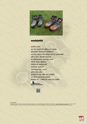 Wanderfreiheit (Mensch, Gesellschaft, Familie, Natur) - Gedichte - Gedanken