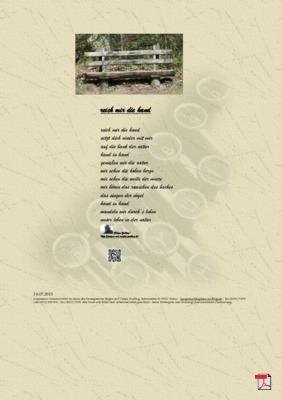 Reich mir die Hand (Mensch, Familie, Natur, Gesellschaft) Gedichte - Gedanken