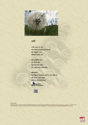 Mehr (Mensch, Familie, Gesellschaft, Natur) - Gedichte - Gedanken