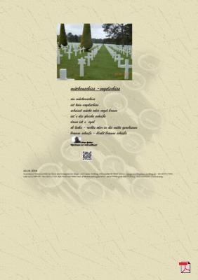Mückenschiss - Vogelschiss (Mensch, Gesellschaft, Politik) - Gedicht - Gedanken