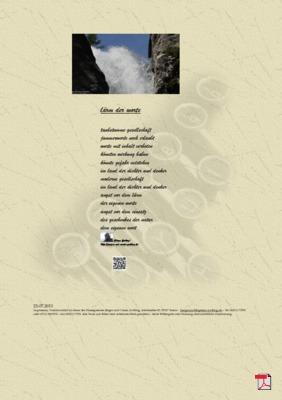 Lärm der Worte (Familie, Gesellschaft, Mensch, Natur) Gedichte - Gedanken