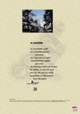 Im Windschatten - Gedicht - Gedanken