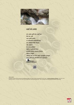Maß der Natur (Mensch, Gellsellschaft) - Gedichte - Gedanken