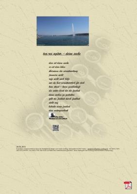 Tua res agitur - Deine Sache (Mensch, Gesellschaft , Familie)  Gedichte - Gedanken