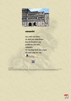 Vergangenheit (Mensch, Gesellschaft, Familie, Politik)  - Gedichte - Gedanken