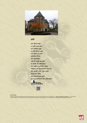 Gott (Kirche, Glauben, Mensch, Religion)- Gedichte - Gedanken