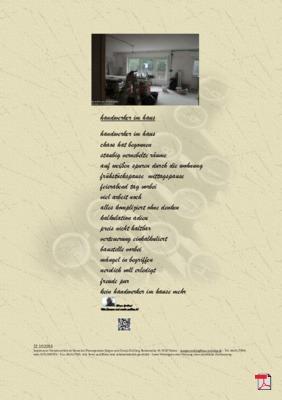 Handwerker im Haus(Mensch, Gesellschaft, Familie, Natur) - Gedichte - Gedanken
