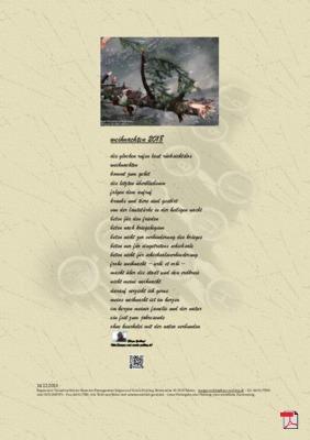 Weihnachten 2018(Mensch, Gesellschaft, Religion) - Gedicht - Gedanken