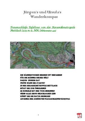 Wandertourbeschreibung - Traumschleife Tafeltour von der Keramikmetropole Mettlach